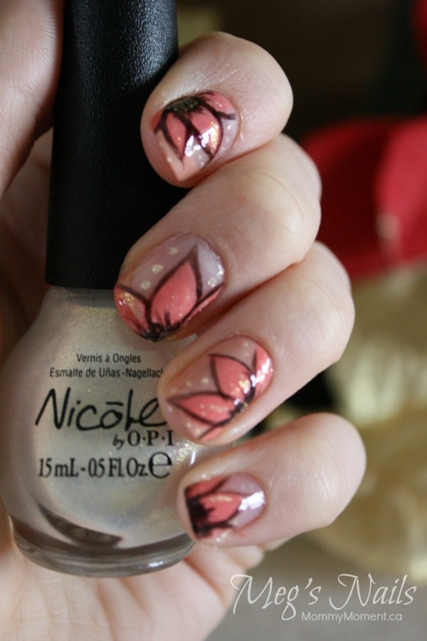 Pink-Flower-Nails