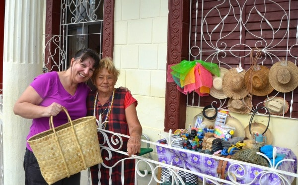 In a Cuban small town, I purchased this bag from a nice lady in her front porch. Everyone in this town carried them.