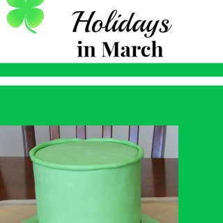 March ~ National Craft Month & Other Fun Holidays