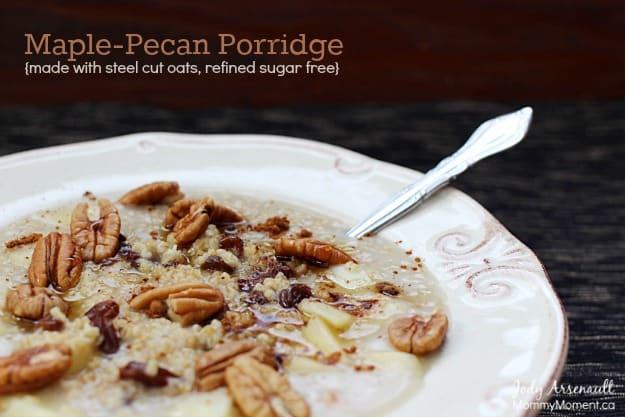 Maple-Pecan-Porridge