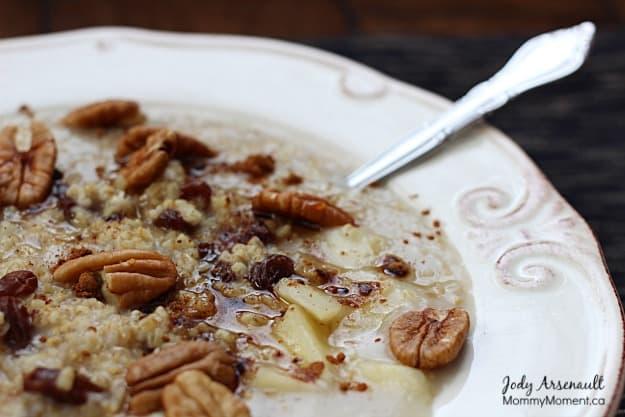 Maple-Pecan Porridge - Mommy Moment