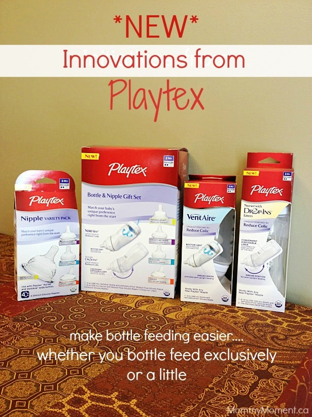 New initiatives from playtex