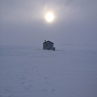 A family trip to Hecla Island in Winter