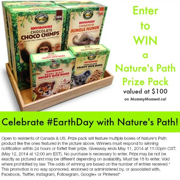 Celebrate Earth Day with Nature's Path