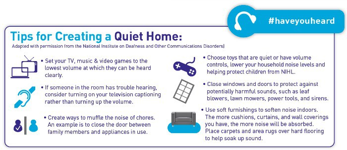 Tips to creating a quiet home