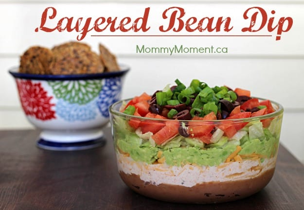 Layered Bean Dip