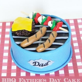 BBQ Cake for Father's Day