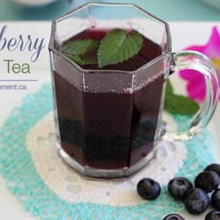Blueberry Mint Tea