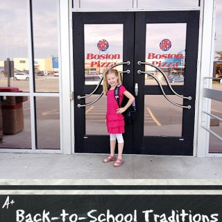 Back-To-School Traditions with Boston Pizza!