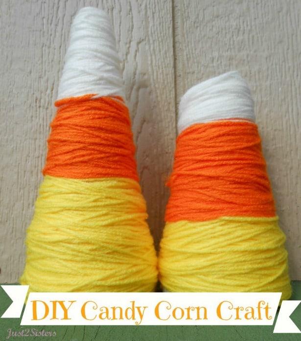 Candy Corn Craft