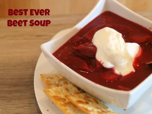 Best Ever Beet Soup