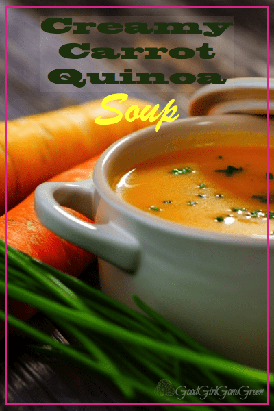 Carrot Quinoa Soup