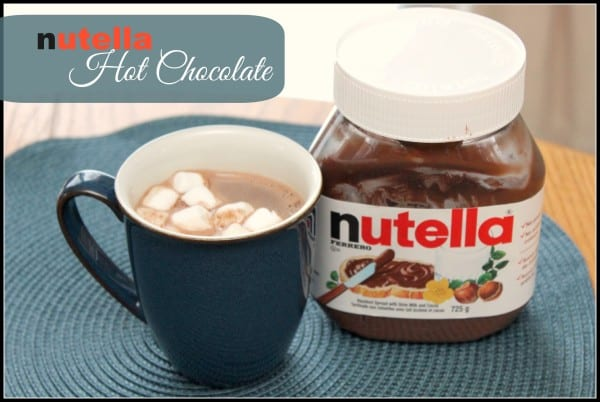 Nutella Hot-Chocolate Text