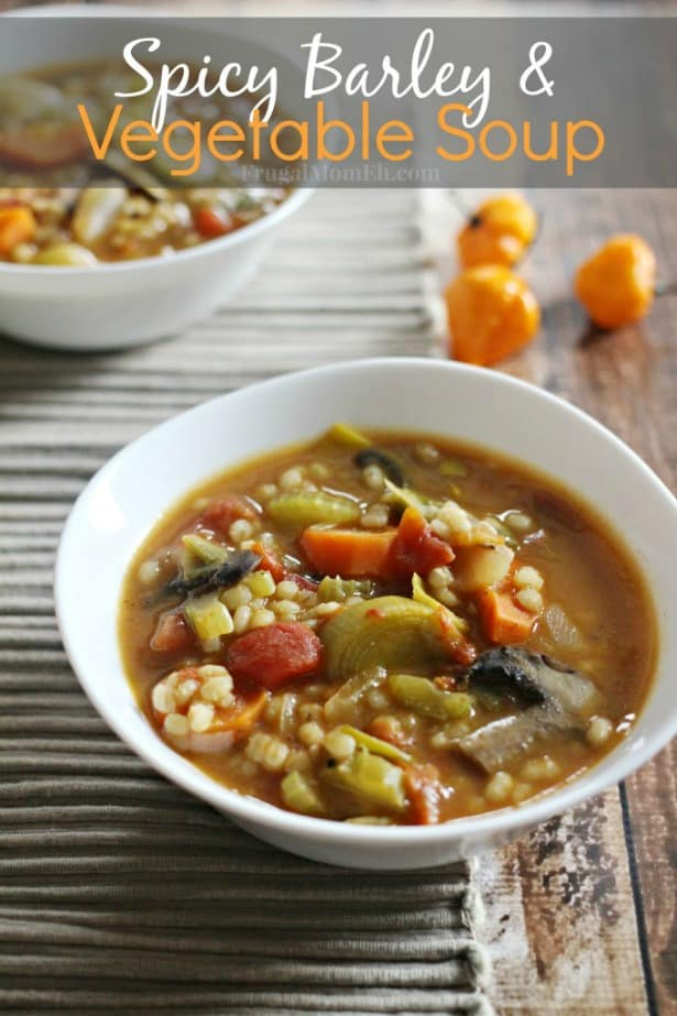 Spicy Barley and Vegetable Soup