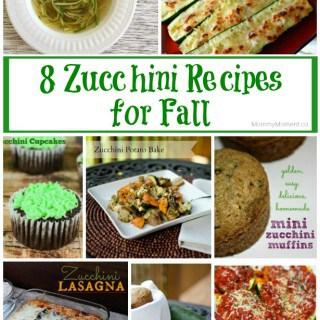8 Zucchini Recipes for Fall