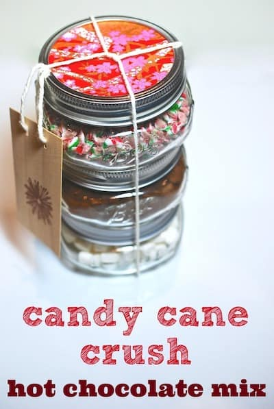 candy cane crush hot chocolate