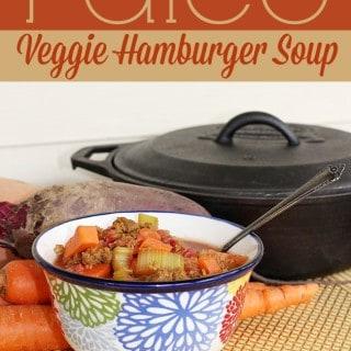 Paleo Veggie Hamburger Soup