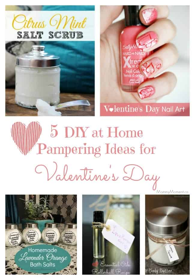 5 diy at home pampering ideas for valentines day mommy for Valentine day at home ideas