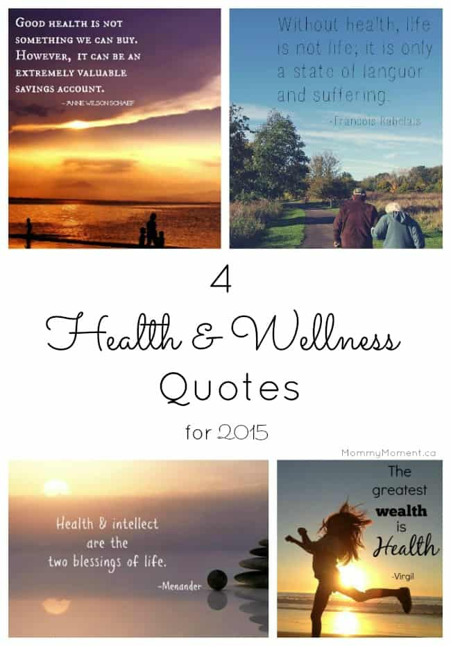 Wellness Quotes Alluring 4 Health And Wellness Quotes To Encourage For 2015