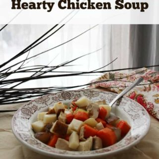 Slow Cooker Hearty Chicken Soup