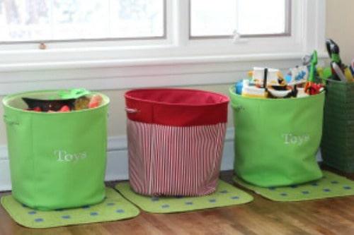 Tips for playroom organization