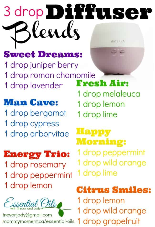 Diffuser Combinations Mommy Moment