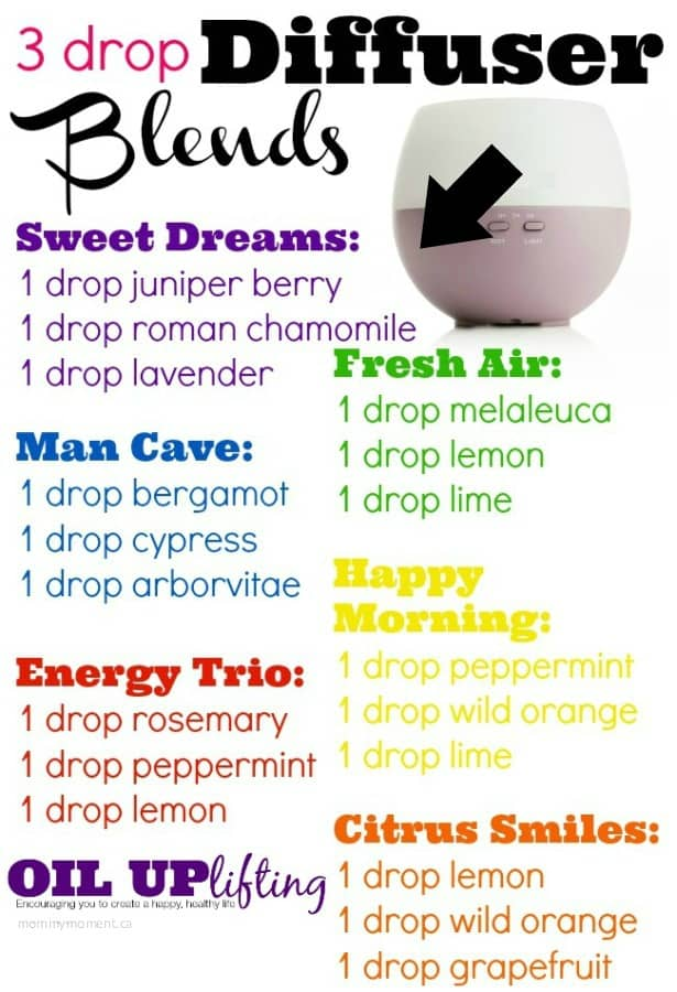 essential oil diffuser combos