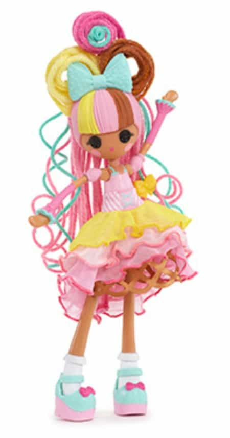 Design A Hairstyle With The Lalaloopsy Girls Crazy Hair Dolls