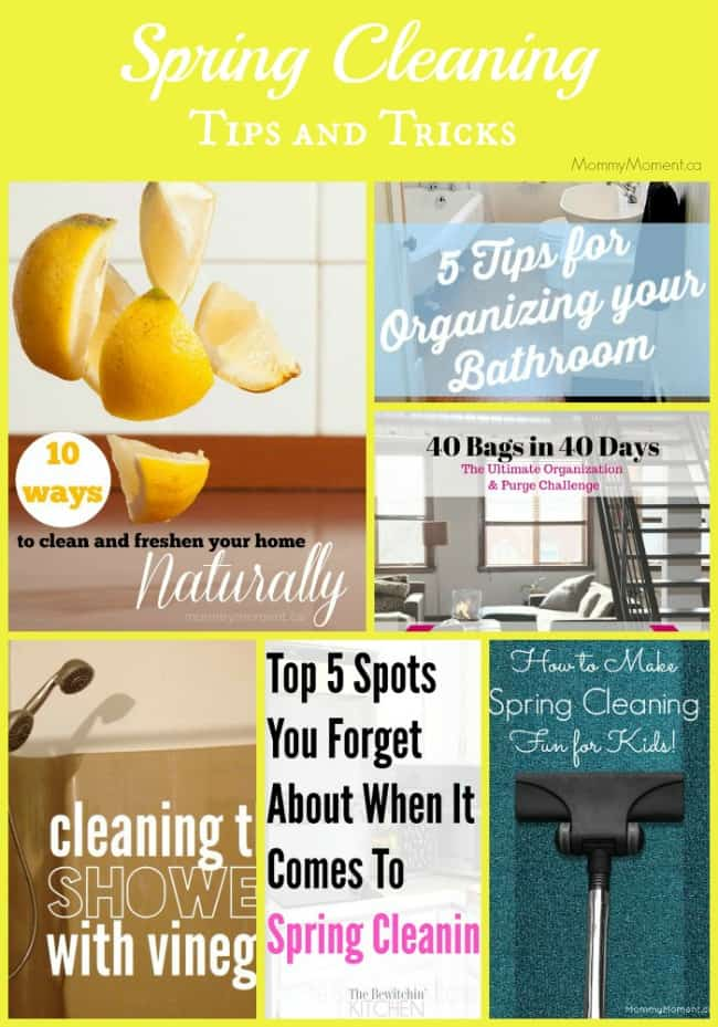 Spring cleaning tips and tricks for Home building tips and tricks