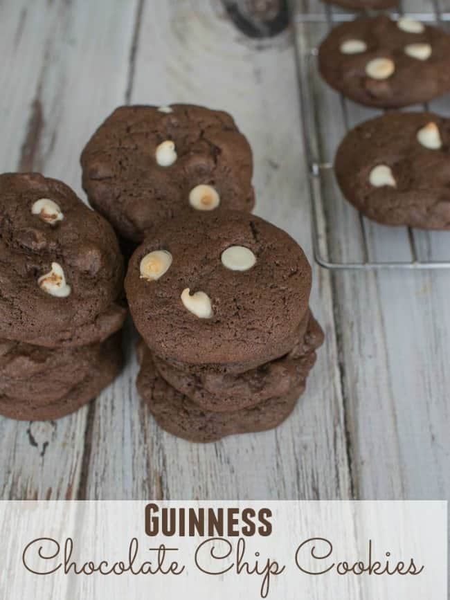 Guinness Chocolate Chip Cookies