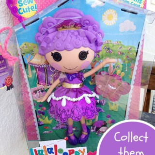 Lalaloopsy Dolls featuring Charms Seven Carat