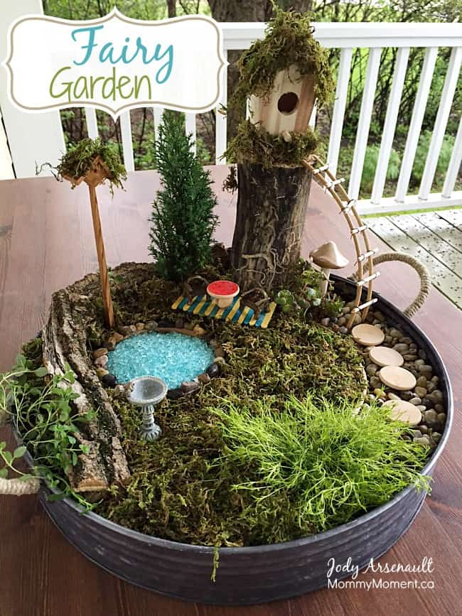 Awesome HOW TO MAKE A FAIRY GARDEN