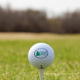 Golfing with kids is more than a game