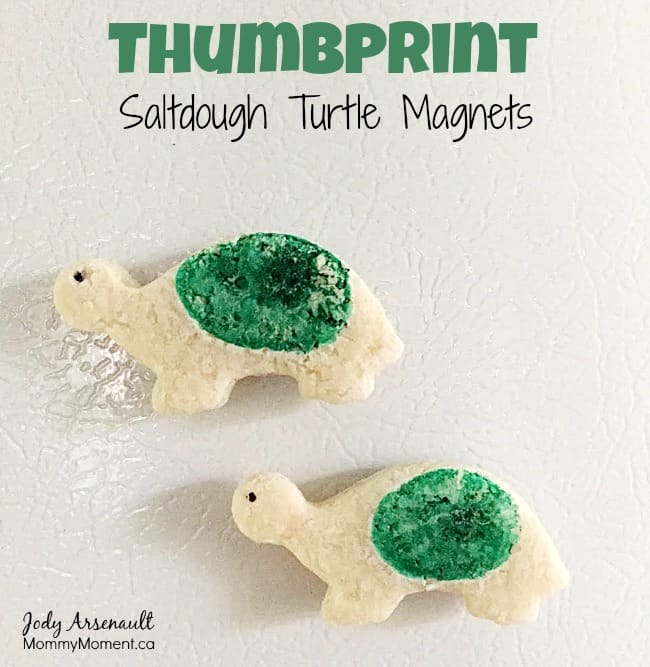 thumbprint-saltdough-turtle-magnets