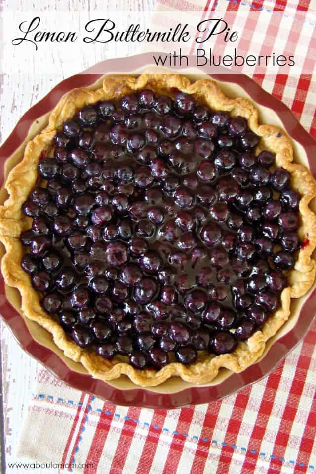 Lemon-Buttermilk-Pie-with-Blueberries