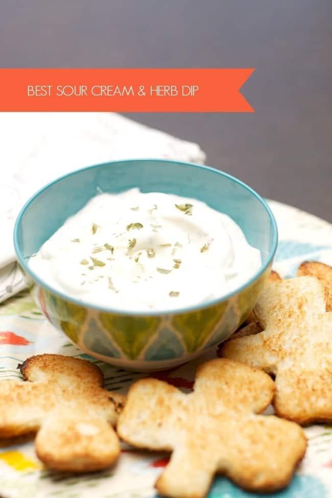 best-sour-cream-herb-dip-recipe-2