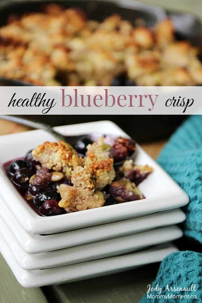 healthy-blueberry-crisp