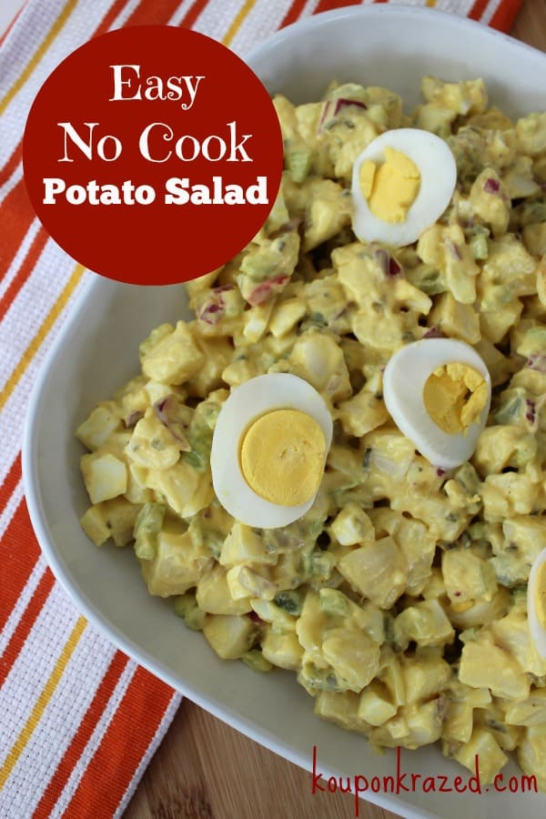 no cook potato salad