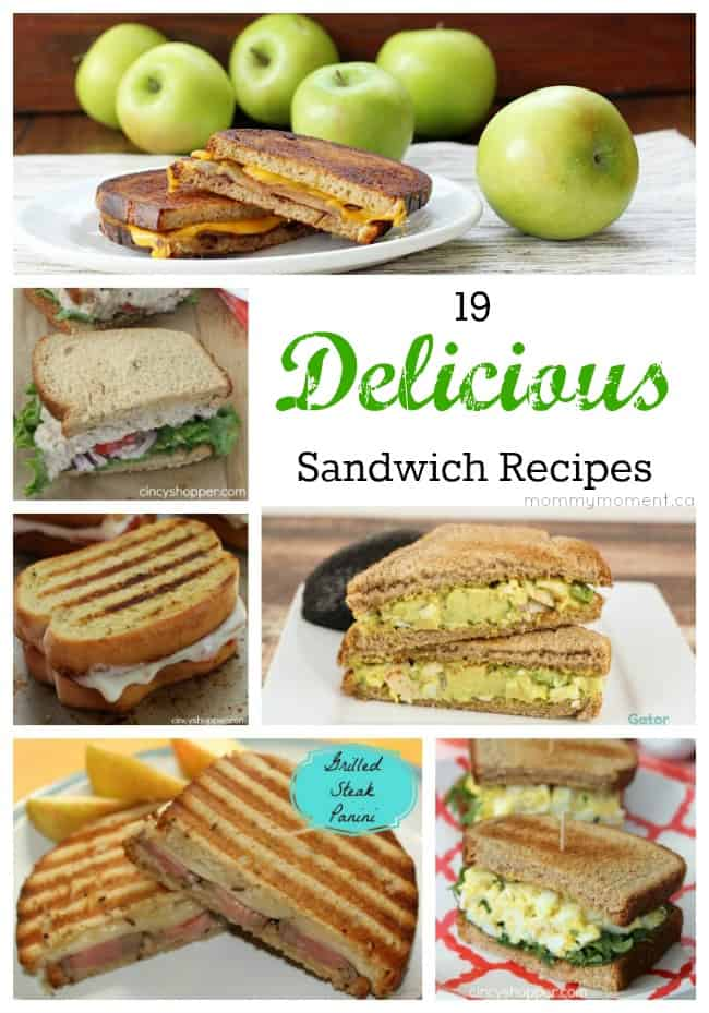 19 Sandwich Recipes