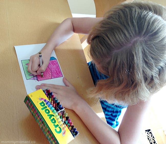 colouring with Crayola