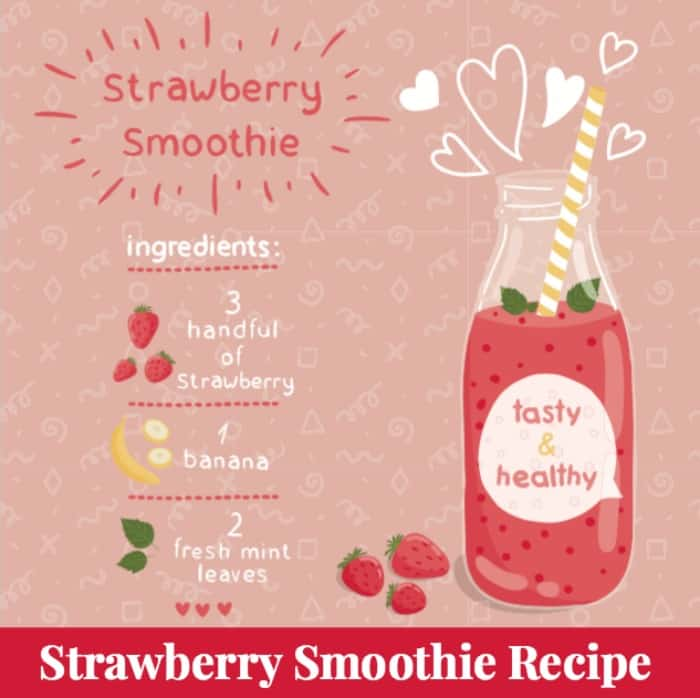 strawberry smoothie recipe plus 76 other strawberry recipes