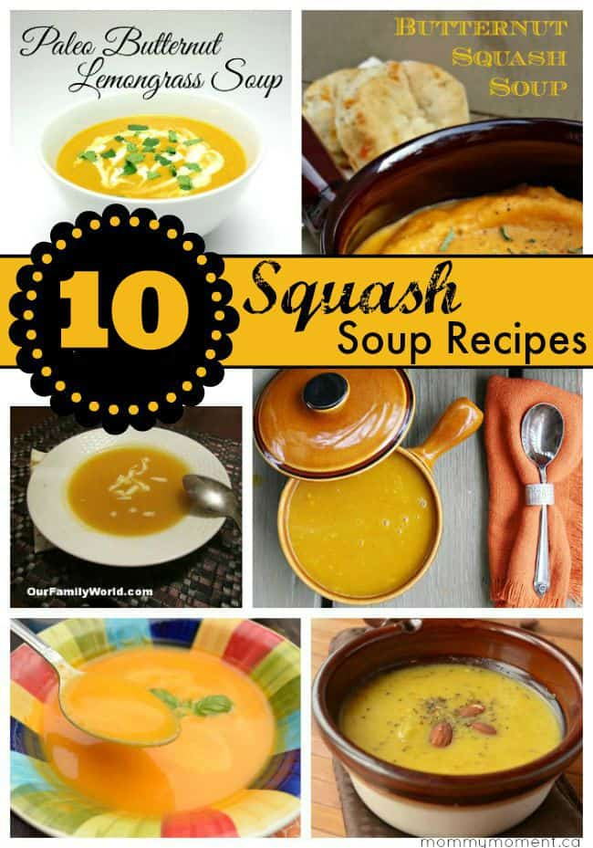 10 Squash Soup Recipes