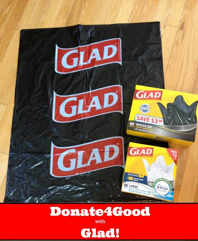 Donate4Good with Glad