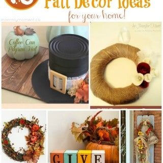 10 Fabulous Fall Decor Ideas for your home!