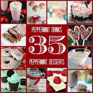 35 Peppermint Drinks and Desserts!