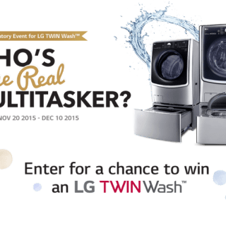 LG Twin Wash Giveaway EVENT – Who's the real Multitasker?  #LGTWINWash