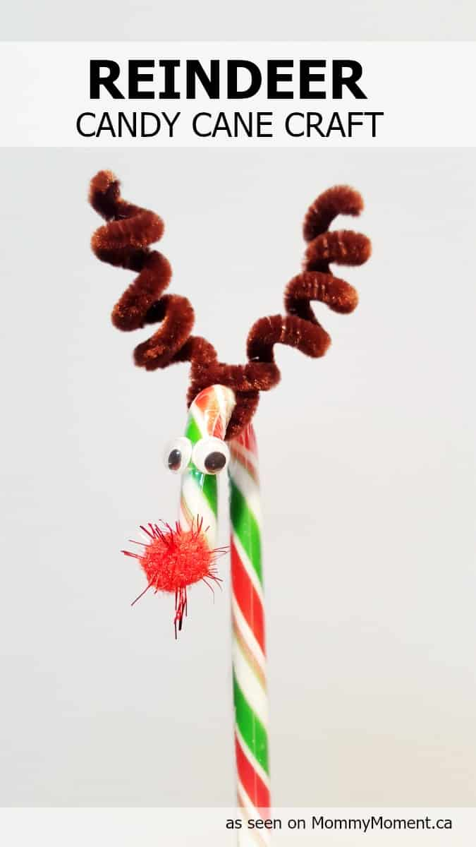 christmas craft ideas with candy canes reindeer crafts can make 10 ideas letters 7508
