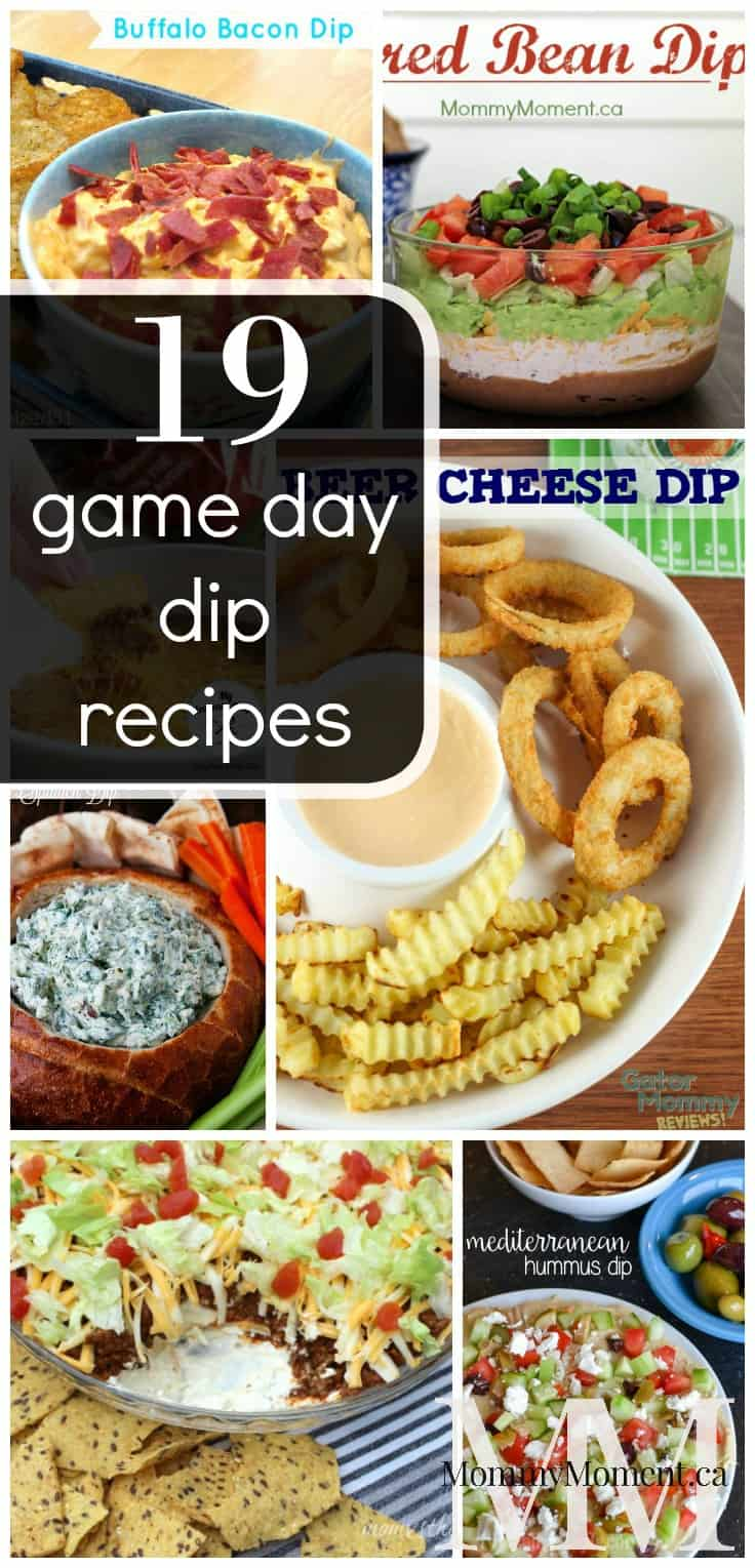 19 Game Day Dip Recipes