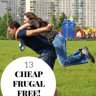 13 CHEAP, FRUGAL or FREE DATE NIGHT IDEAS