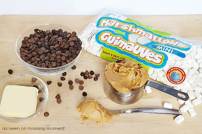 Chocolate Marshmallow ingredients